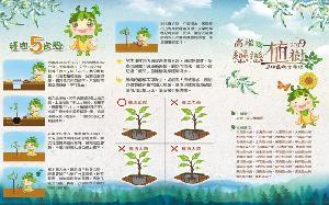 植樹愛地球 高市38個區公所攜手農業局12日發送樹苗