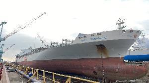 台船公司針對網路流傳「有一艘杭州出發貨櫃輪至台船公司維修一事」 提出說明