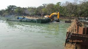 澄清湖水庫清淤 增加庫容穩定供水