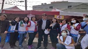 中油煉製事業部行政室主任胡漢鯤率員參加 「愛在大寮、寒冬送暖」
