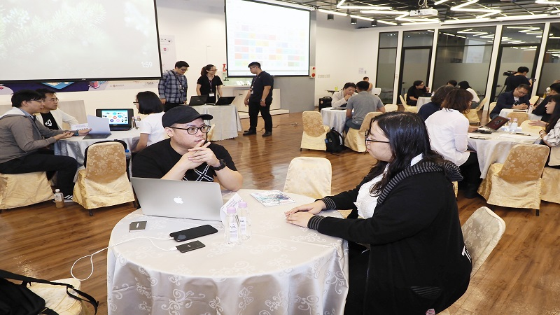 加工處舉辦數位人才媒合與「藝MAGINE.跨創藝」大師講座