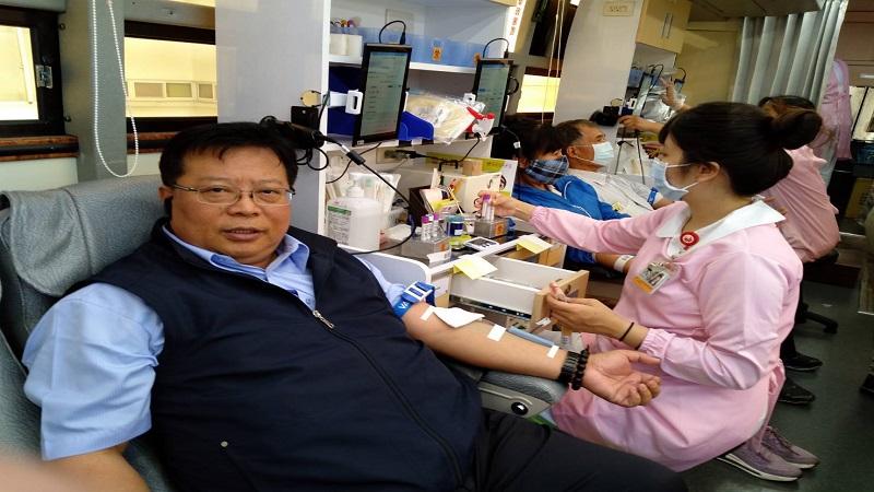 疫情趨援 中油熱烈捐血 解決血荒