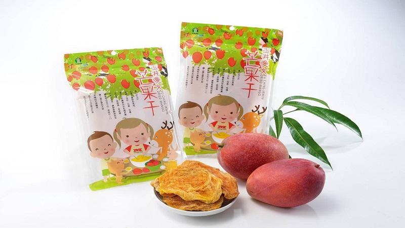 香甜芒果乾開烘 滿滿健康與幸福