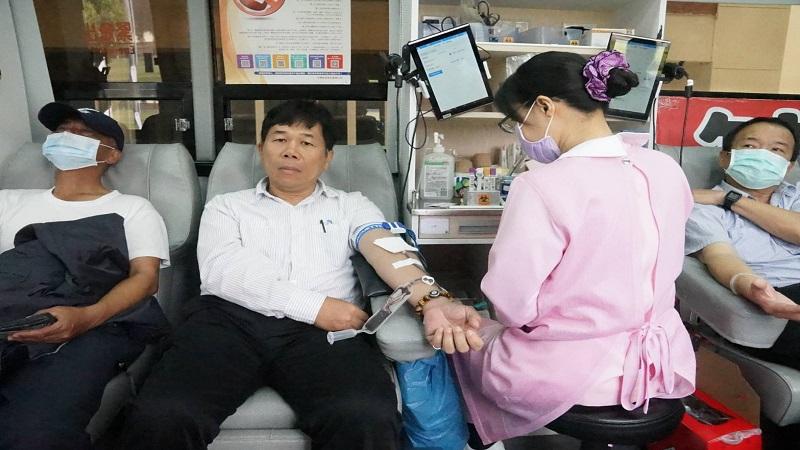 中油百萬CC熱情公益捐血活動 宣揚「捐血一袋 救人一命」