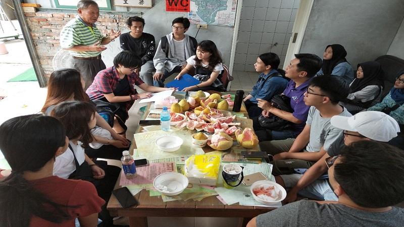 台灣首府大學結合「麻豆學」理念 推動柚樹廢棄枝條再生計畫