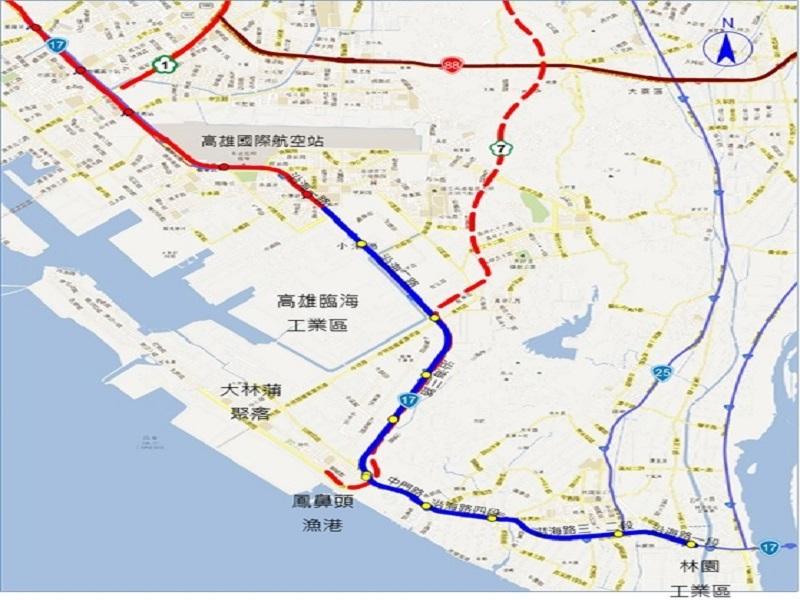 高市政府積極推動 高雄捷運延伸小港林園線