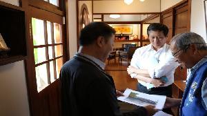 高市陳雄文副市長訪美濃 行銷高雄客庄之美