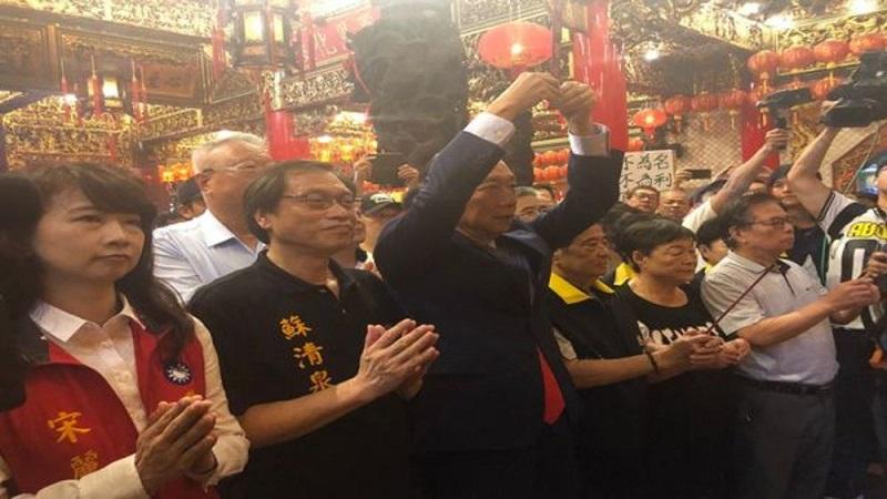 郭台銘承諾 若當選總統,高鐵、高捷延伸至屏東