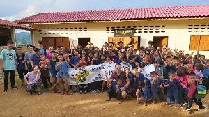 六龜高中志工同學 至泰國擔任國際志工 落實全民國防教育