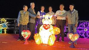 客家燈飾點映美濃湖  二月戲系列活動開跑